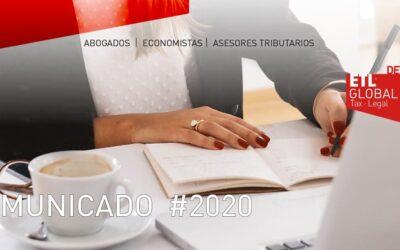 Aviso Impuestos Trimestrales 3T 2020